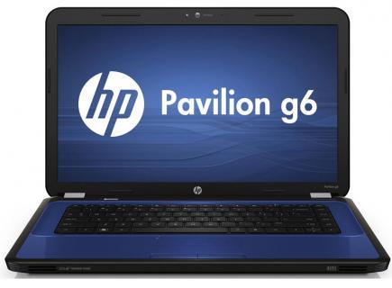hp pavilion g6-1300 fronte blue