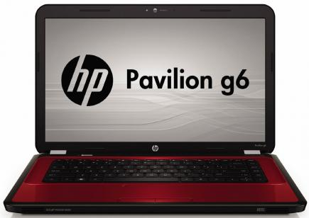 hp pavilion g6-1300 fronte red