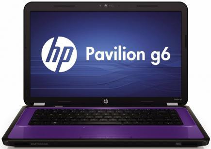 hp pavilion g6-1300 fronte purple