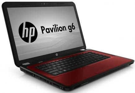 hp pavilion g6-1300 3/4 red