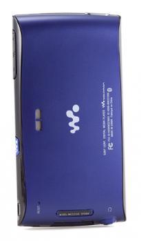 Sony NWZ-Z1000: vista posteriore