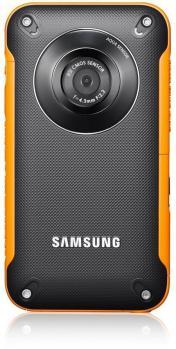 Samsung HMX-W350YP: vista frontale