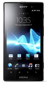 sony xperia ion fronte