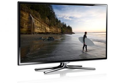 Samsung UE55ES6560Q: vista 3/4 frontale