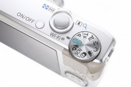 Canon PowerShot S110: vista ghiera