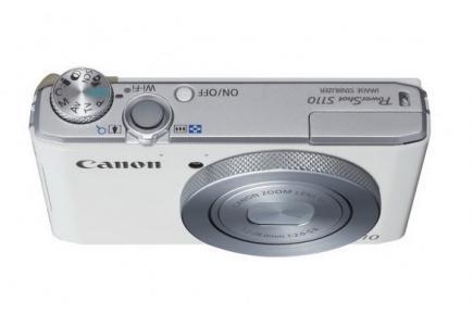 Canon PowerShot S110: vista superiore