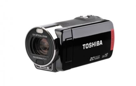 Toshiba Camileo X200: vista 3/4 frontale