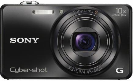 sony cyber-shot wx200 fronte nera