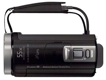 sony hdr-cx410ve top