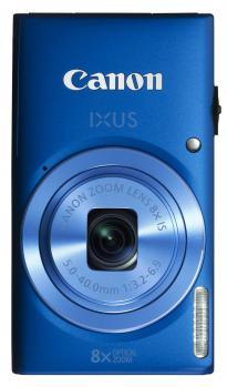 canon ixus 135 fronte verticale blu
