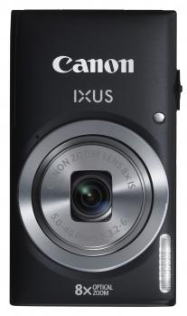 canon ixus 135 fronte verticale nera