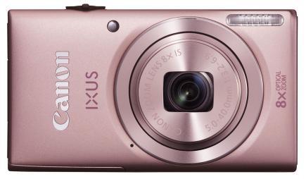 canon ixus 135 fronte rosa