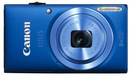 canon ixus 135 fronte blu
