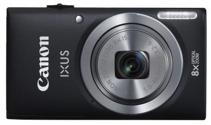canon ixus 135 fronte nera