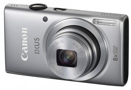 canon ixus 135 3/4 silver
