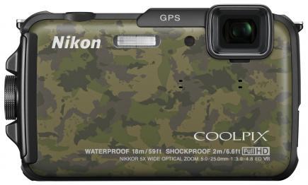nikon coolpix aw110 fronte militare