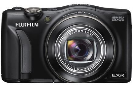 fujifilm finepix f850exr fronte black