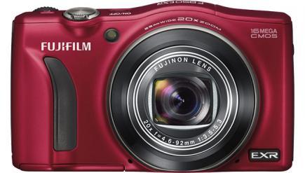 fujifilm finepix f850exr fronte red