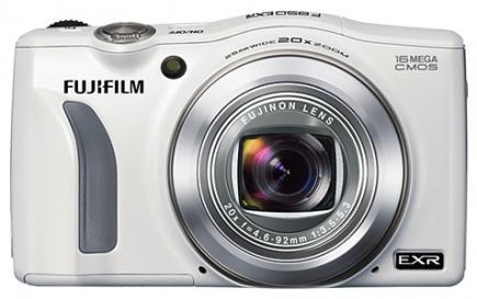 fujifilm finepix f850exr fronte silver