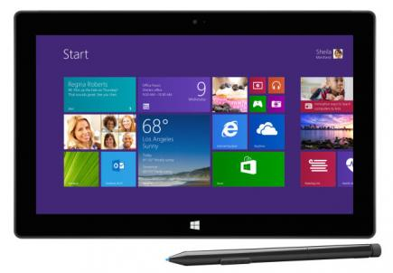 microsoft surface 2 pro fronte
