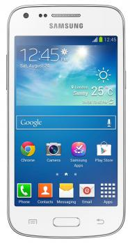 samsung galaxy core plus g350 fronte white