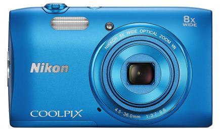 nikon coolpix s3600 fronte blu