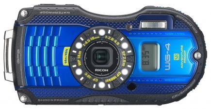 ricoh wg-4 gps fronte blue