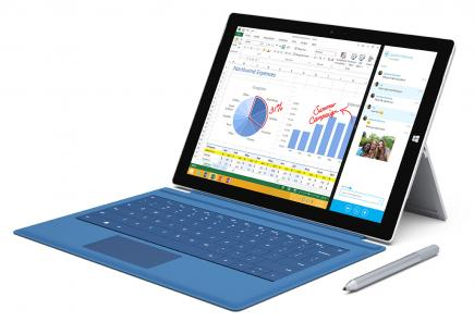 microsoft surface pro 3 fronte