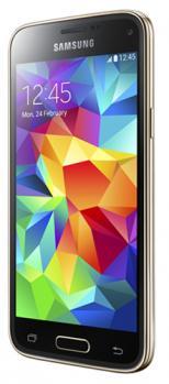samsung galaxy s5 mini 3/4 gold