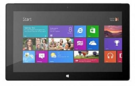microsoft surface pro 4 fronte