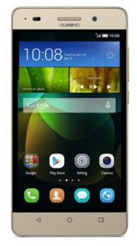 huawei g play mini fronte gold