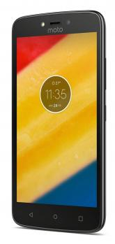 motorola moto c plus 3/4 black