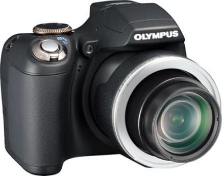 olympus sp 590 uz lato destro