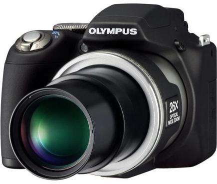 olympus sp 590 uz 3/4 obiettivo
