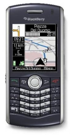 blackberry pearl 8110 fronte