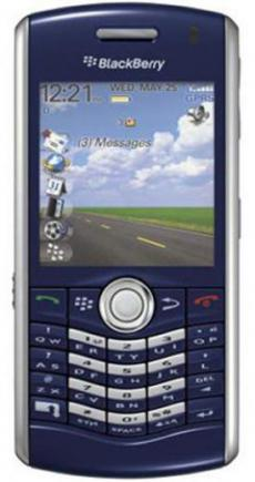blackberry pearl 8110 fronte