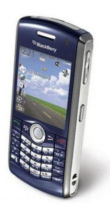 blackberry pearl 8110 top