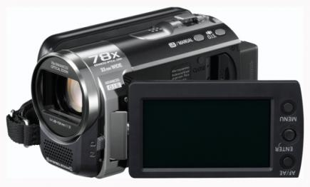 panasonic sdr-h85 3/4 LCD