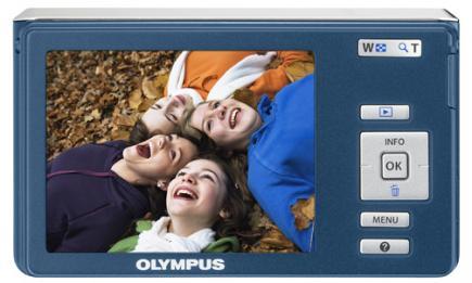 olympus fe-4030 retro blue