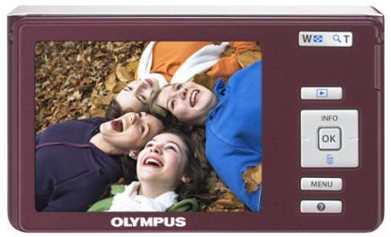 olympus fe-4030 retro marrone