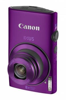 Canon IXUS 230HS: Vista Frontale Verde Nera