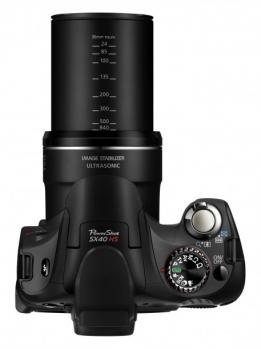 Canon PowerShot SX40 HS: Vista Zoom