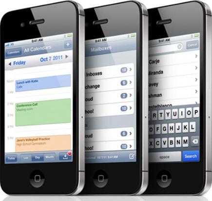 apple iphone 4s lato