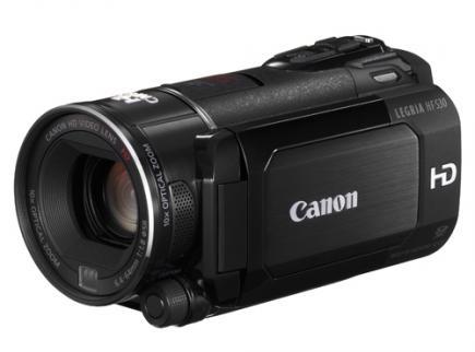 Canon LEGRIA HF S30: vista 3/4 frontale