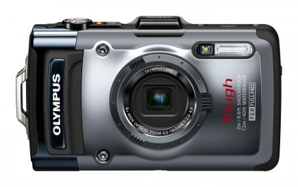 Olympus Tough TG-1: vista frontale