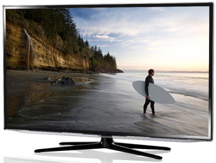 Samsung UE55ES6100P: vista 3/4 frontale