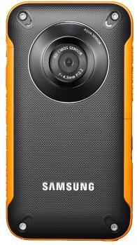 Samsung HMX-W300YP: vista frontale