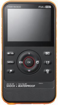 Samsung HMX-W300YP: vista posteriore