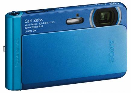 sony cyber-shot dsc-tx30 3/4 blu