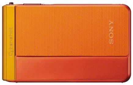 sony cyber-shot dsc-tx30 fronte orange